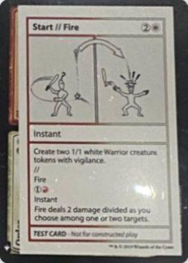 Start // Fire | Mystery Booster(ミステリーブースター)収録カード