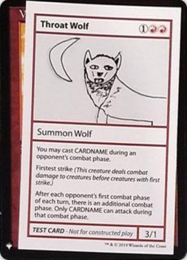 Throat Wolf | Mystery Booster(ミステリーブースター)収録カード