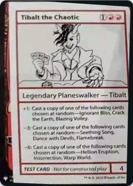 Tibalt the Chaotic   Mystery Booster(ミステリーブースター)収録カード