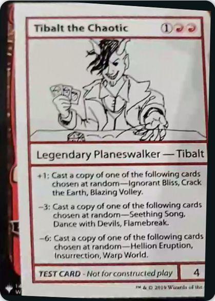 Tibalt the Chaotic | Mystery Booster(ミステリーブースター)収録カード