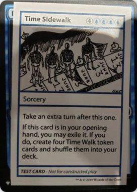 Time Sidewalk | Mystery Booster(ミステリーブースター)収録カード