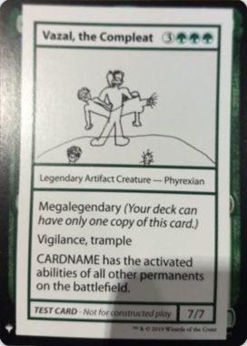 Vazal, the Compleat   Mystery Booster(ミステリーブースター)収録カード