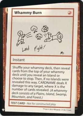 Whammy Burn | Mystery Booster(ミステリーブースター)収録カード