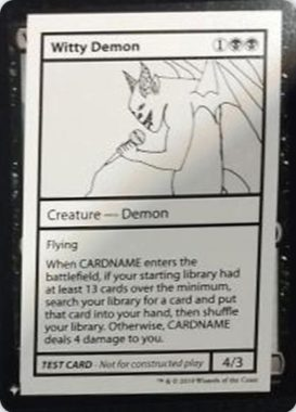 Witty Demon | Mystery Booster(ミステリーブースター)収録カード