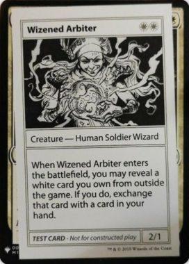 Wizened Arbiter | Mystery Booster(ミステリーブースター)収録カード