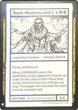 Zyym, Mesmeric Lord | Mystery Booster(ミステリーブースター)収録カード
