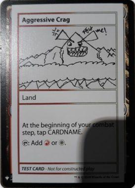 Aggressive Crag | Mystery Booster(ミステリーブースター)収録カード