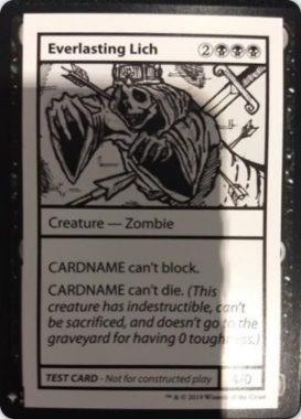 Everlasting Lich   Mystery Booster(ミステリーブースター)収録カード