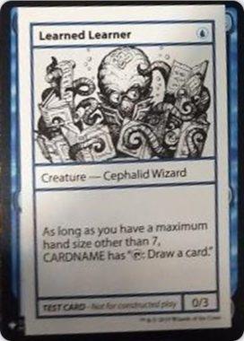 Learned Learner   Mystery Booster(ミステリーブースター)収録カード