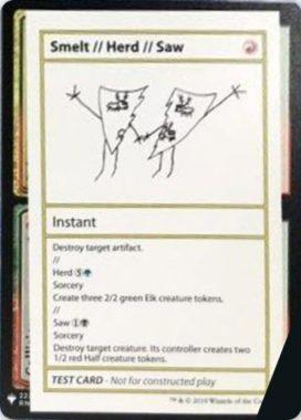 Smelt // Herd // Saw | Mystery Booster(ミステリーブースター)収録カード