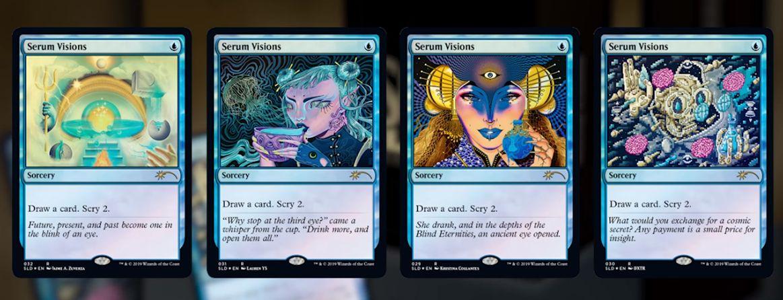 Seeing Visions:MTG「Secret Lair」収録内容