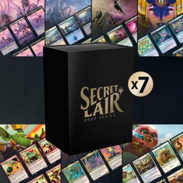 【Secret Lair】MTG「Secret Lair Bundle」が販売開始!7種の「Secret Lair」がセットになったお買い得セット!