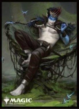 王冠泥棒、オーコ(拡張アート版):エンスカイ「プレイヤーズカードスリーブ」エルドレインの王権