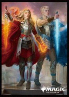 王家の跡継ぎ(拡張アート版):エンスカイ「プレイヤーズカードスリーブ」エルドレインの王権