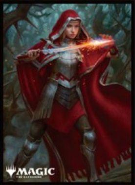 不敵な火花魔道士、ローアン:エンスカイ「プレイヤーズカードスリーブ」エルドレインの王権
