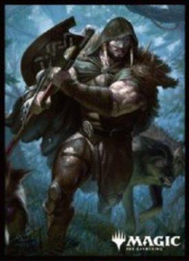 呪われた狩人、ガラク:エンスカイ「プレイヤーズカードスリーブ」エルドレインの王権