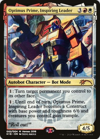 Optimus Prime, Inspiring Leader:Heroes of the Realm 2018