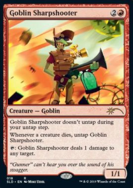 Goblin Sharpshooter:Secret Lair「explosion sounds」収録