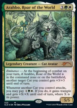 Arahbo, Roar of the World:Secret Lair「OMG KITTIES!」収録