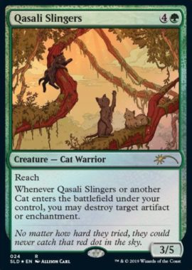 Qasali Slingers:Secret Lair「OMG KITTIES!」収録