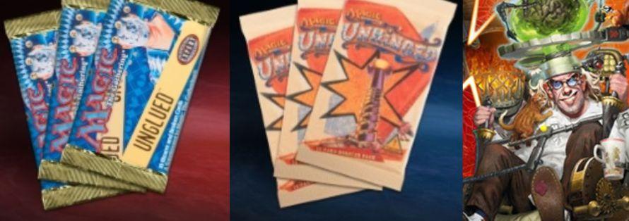 【Unsanctioned】あなたが一番好きな「銀枠ジョークセット」のカードは?MTG「Unsanctioned」に再録も!?