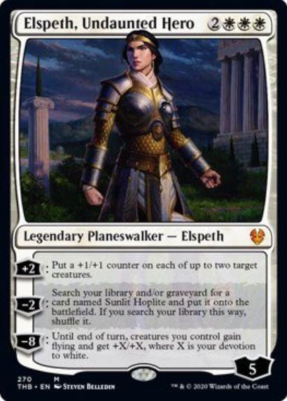 Elspeth, Undaunted Hero(テーロス還魂記)プレインズウォーカーデッキ