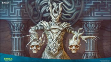 PC壁紙【アート】悪夢の詩人、アショク(テーロス還魂記)の拡張アート版イラスト