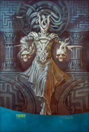 スマホ壁紙【アート】悪夢の詩人、アショク(テーロス還魂記)の拡張アート版イラスト