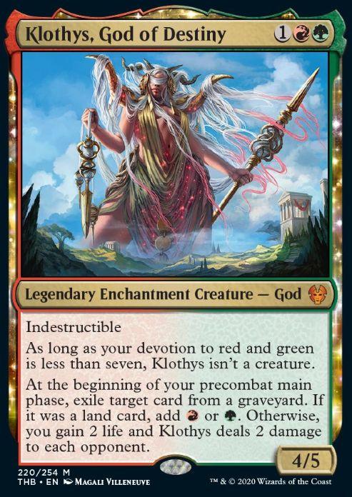 Klothys, God of Destiny(テーロス還魂記)