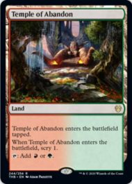 奔放の神殿(Temple of Abandon)テーロス還魂記