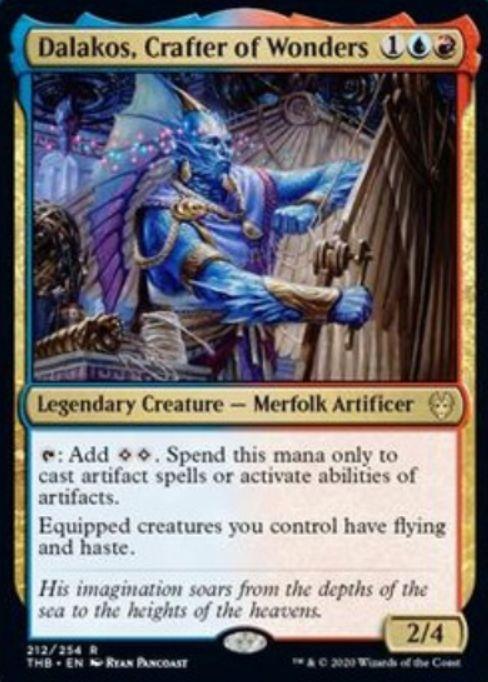 Dalakos, Crafter of Wonders(テーロス還魂記)