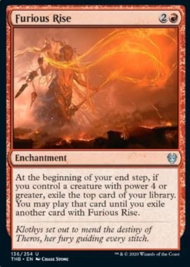 Furious Rise テーロス還魂記