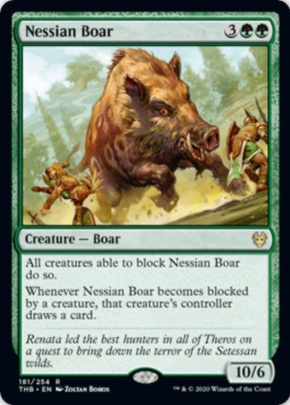Nessian Boar(テーロス還魂記)