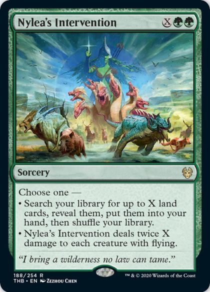 Nylea's Intervention(テーロス還魂記)