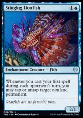 Stinging Lionfish(テーロス還魂記)