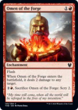 鍛冶の神のお告げ(Omen of the Forge)英語版