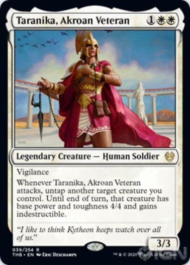 Taranika, Akroan Veteran(テーロス還魂記)