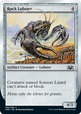 (Rock Lobster):Unsanctioned