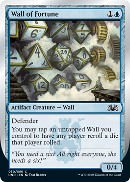 (Wall of Fortune:Unsanctioned