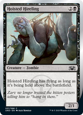 (Hoisted Hireling):Unsanctioned