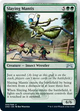 (Slaying Mantis):Unsanctioned