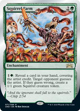 (Squirrel Farm):Unsanctioned