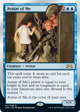 (Avatar of Me):Unsanctioned