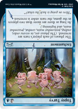 (Topsy Turvy):Unsanctioned