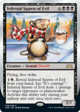 (Infernal Spawn of Evil):Unsanctioned