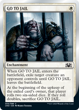 (GO TO JAIL):Unsanctioned