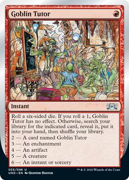 (Goblin Tutor):Unsanctioned