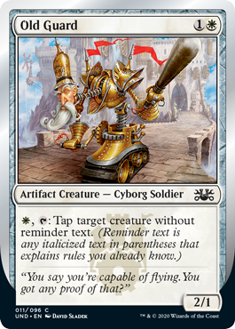 (Old Guard):Unsanctioned