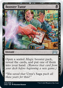 (Booster Tutor):Unsanctioned