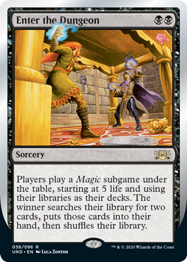 (Enter the Dungeon):Unsanctioned